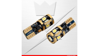 Diodlampa T10 Super Canbus 9SMD