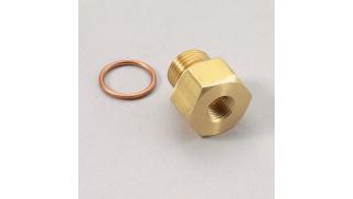 M12x1,5mm Metrisk adapter 1/8NPT