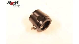 AN12 / 25mm Slangklämma Aluminium  Svart