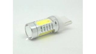 Diodlampa T20 eller W21W eller 7440 gul/orange 7,5W blinkers 2 P