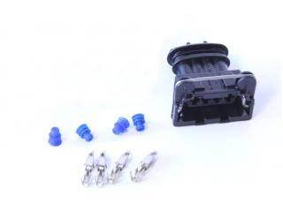 Kontaktdon 4-poligt hylsdon Bosch JPT (tändmodul / tändspole)