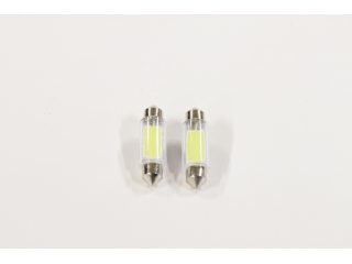 36mm LED COB Spollampor VIT 2W Power LED 2 Pack