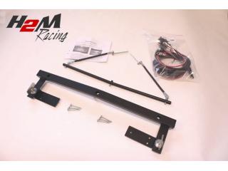 AUDI A1 Extraljusfäste för 3 lysen komplett med kabelsats