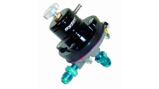 1:1 linjär motorsport regulator 0-6 Bar - Svart