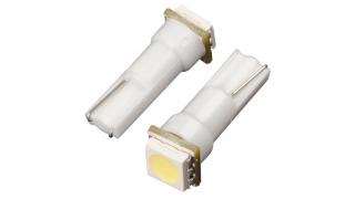 Diodlampa T5 Xenonvit högeffektsdiod 2 Pack