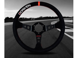 Driven 13.5″ Deep Dish Steering Wheel