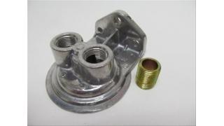 Perma-Cool Oljefilterhållare för 3/4-16 gängat filter. Ansl  uppåt