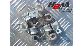 Gummi klammer 10mm för fastsättning av tex 1/4 eller 5/16 rör