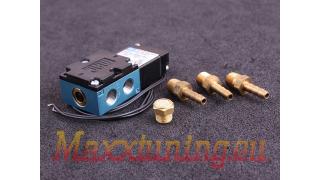 Magnetventil för elektronisk reglering av laddtryck 12v dubbelspole