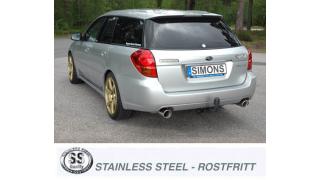 Subaru Legacy Estate 2,0R / 2,5i 2004-2009        100mm+100mm