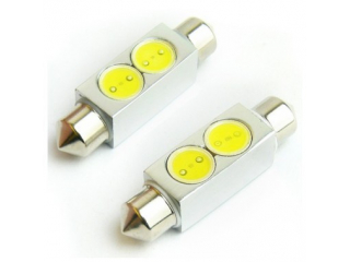 39mm  Diodlampa Spollampor VIT 2W Power LED 2 Pack