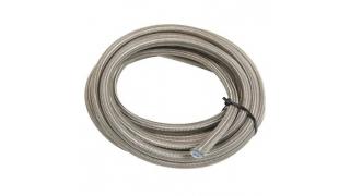 AN8 Stålomsbunden PTFE slang