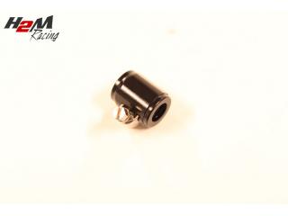 AN4 / 13mm Slangklämma Aluminium  Svart