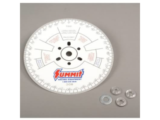 Summit Racing® Cam Degree Wheels