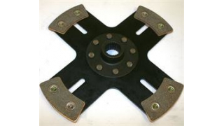 Kep Sinterlamell 240mm solid 4-puck (20,6x24) Audi 90 100 200