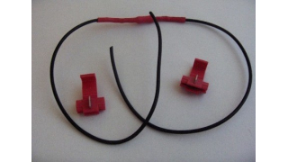 Resistorkabel för användning där 5 watts lampa tidigare suttit 12V