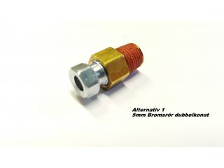 Bromsrörs nipplar linelock