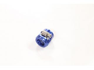 AN6 16mm Slangklämma Aluminium Blå