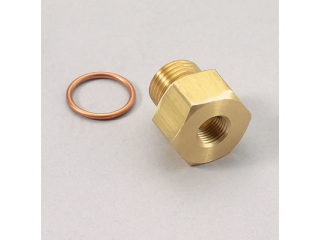 M10x1mm Metrisk adapter 1/8NPT