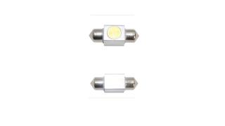 31mm Diodlampa Spollampor VIT 1W Power LED 2 Pack