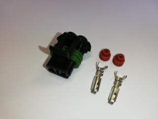 Kontaktdon 2-poligt för Walbro GST Pumpar