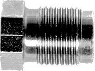 Bromsrörsnippel M:12x1 för 6,0mm rör