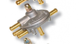 Bränsle regulator Förgasare dubbla utg (turbo)
