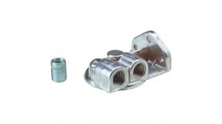Perma-Cool Oljefilterhållare för 3/4-16 gängat filter. Ansl höger