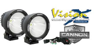 VISION X LIGHT CANNON LED KIT 25W BLACK 10°