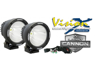 VISION X LIGHT CANNON LED KIT 25W BLACK 10°