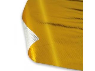 Självhäftande Värmeduk Guld 61x61Cm
