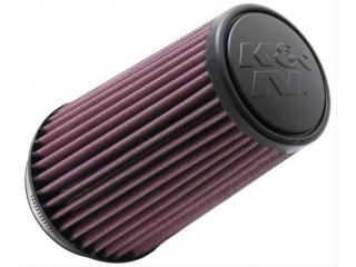 K&N Svart Enkelkonat luftfilter 89mm 178mm längd