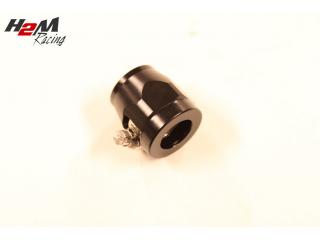 AN10 / 21mm Slangklämma Aluminium Svart