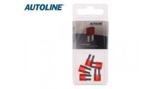Flatsäkring Micro2 10A Röd 5st