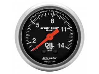 Sport Comp Oljetryck 0-14 Bar mekanisk