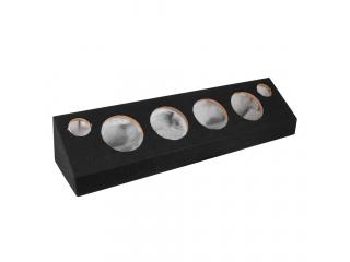 GAS PRO SPL-låda 4x6.5tum med diskanthål