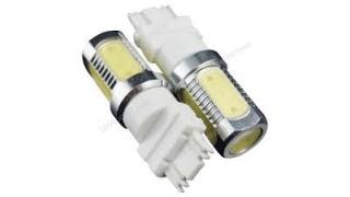 Diodlampa 3156 (P27W)  7,5W Power LED Orange med lins 2 Pack