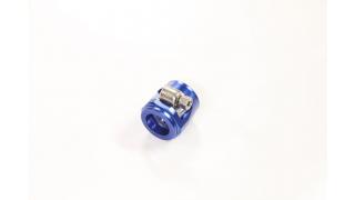 AN12 25mm Slangklämma Aluminium Blå