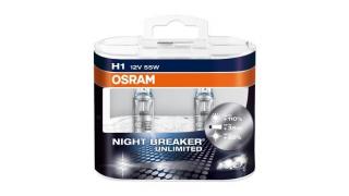 H1 55W Osram Night Breaker Unlimited 12V