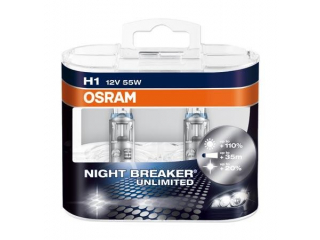 H1 55W Osram Night Breaker Unlimited 12V