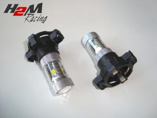 Diodlampa PY24 30W för dimljus 2 Pack