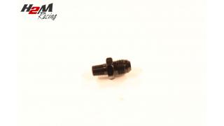 AN4-1/8NPT adapter Svart