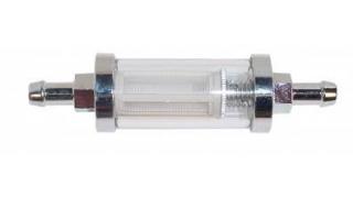 Bränslefilter 8mm Nipplar glas