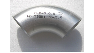 90x3 Aluminium rörböj