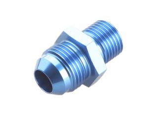AN8 till M14x1,5mm adapter Blå