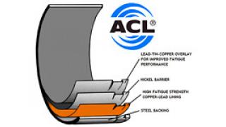 Ramlager med lösa axialbrickor Audi 5 cyl 20v