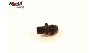 AN8-1/4NPT adapter Svart