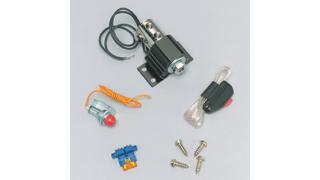 Line Lock med knapp och lampa