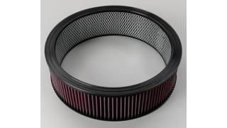 K&N Filtercharger Luftfilter 4,0 Tum