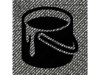 Lackering båge svart